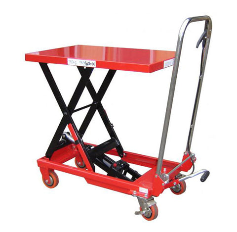 Lift Mate TXL150 Manual Single Scissor 150kg Lift Table - Pallet Trucks Direct
