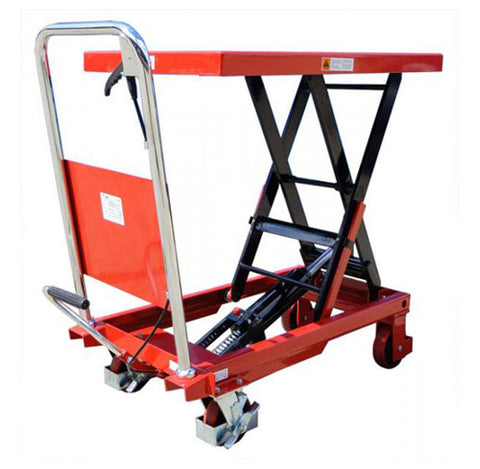 300kg Single Scissor Lift Table