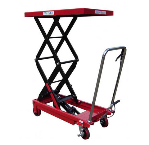 Lift Mate TXL350D Double Scissor 350kg Lift Table - Pallet Trucks Direct