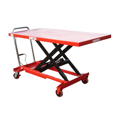 Lift Mate TXL500L Manual 500kg Single Scissor Lift Table - Pallet Trucks Direct