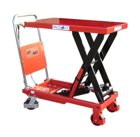 Lift Mate TXL500 Single Scissor 500kg Lift Table - Pallet Trucks Direct