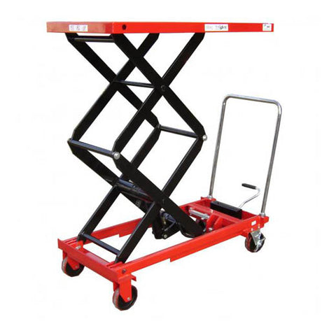 Lift Mate TXL680D Manual 680kg Double Scissor Lift Table - Pallet Trucks Direct