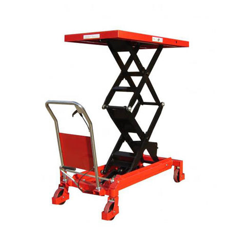 800kg Double Scissor Lift Table - Pallet Trucks Direct