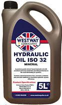 5 Litres of Hydraulic Oil ISO 32