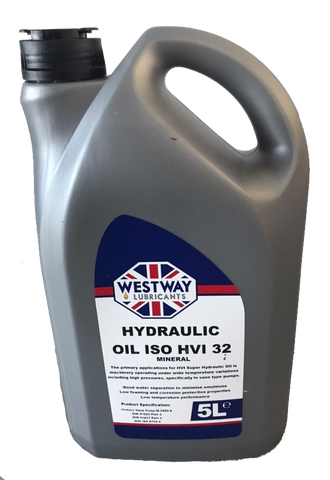 5 Litres of Hydraulic Oil ISO HVI 32 - Pallet Trucks Direct