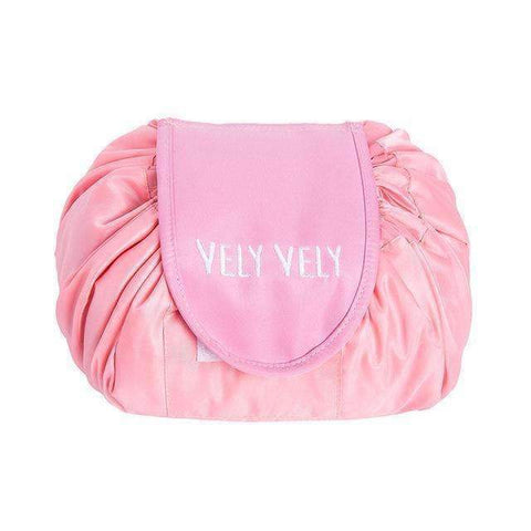 trendyholo.com Pink Creative Large Makeup Bag