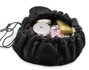 trendyholo.com Black Creative Large Makeup Bag