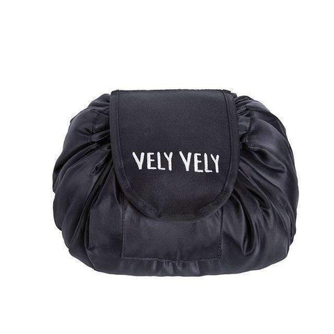 Image of trendyholo.com Black Creative Large Makeup Bag
