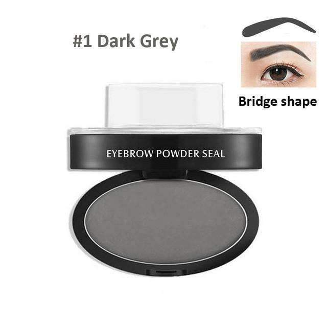 trendyholo.com Health & Beauty Dark Grey Arch Eyebrow Stamp