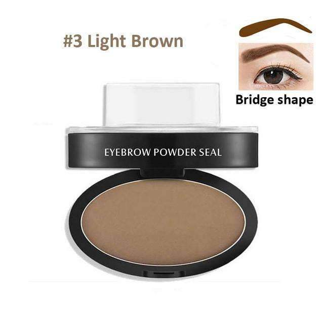 trendyholo.com Health & Beauty Light Brown Arch Eyebrow Stamp