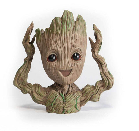 Trendy Holo Gadgets Excited Groot Groot Man Planter Pot
