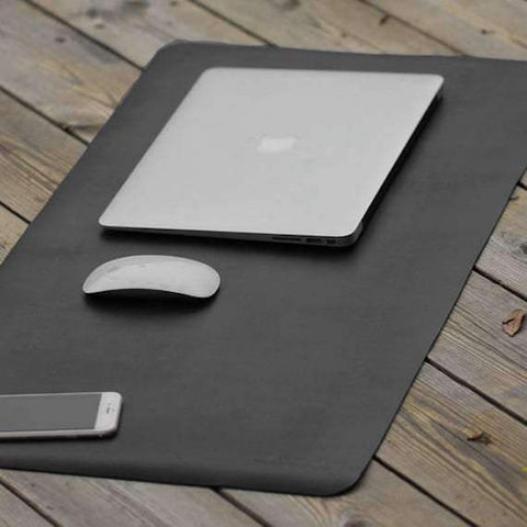 trendyholo.com 80x40cm / Blue Large Office Desk Mouse Pad