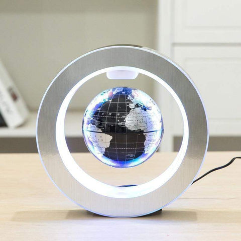 Image of Cart Weez home decor Black ball LED World Map