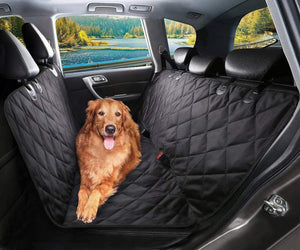 trendyholo.com Black Luxury WaterProof Pet Seat Cover for Cars