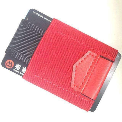 Image of trendyholo.com red Minimalist Wallet
