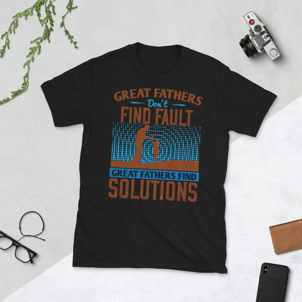 Great Father Find Solutions T-Shirt - Cart Weez
