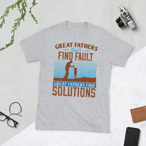 Great Father Find Solutions T-Shirt