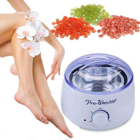 Image of trendyholo.com Chamomile / US Plug Not Painful Warm Wax Hair Removal Kit