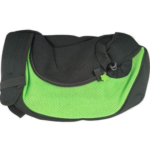 trendyholo.com Green / S PET CARRIER CHEST BACKPACK