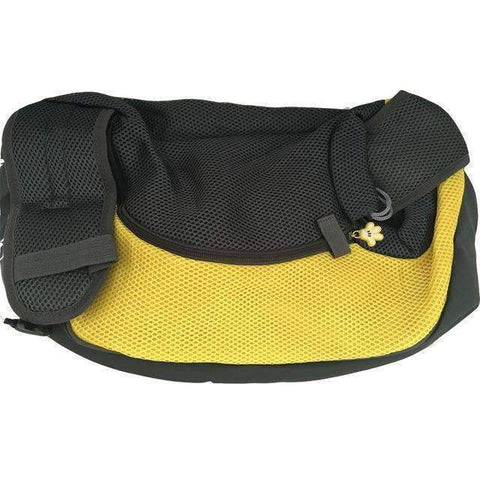 trendyholo.com Yellow / S PET CARRIER CHEST BACKPACK