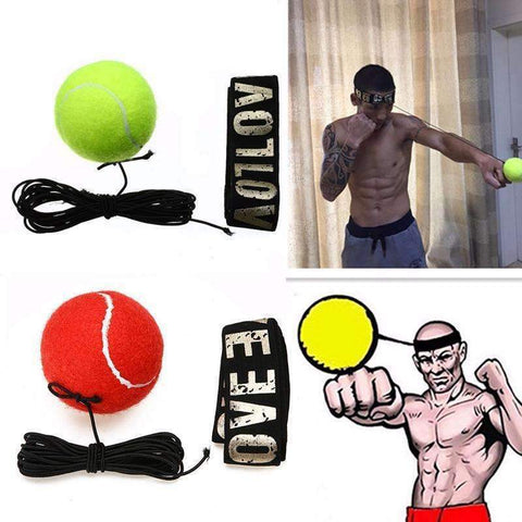 Image of trendyholo.com Red PRO REFLEX BOXING TRAINER