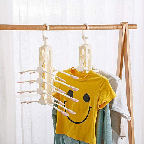 Image of Foldable Clothes Rack