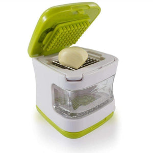 trendyholo.com Small Garlic Press with Stainless Steel Blades
