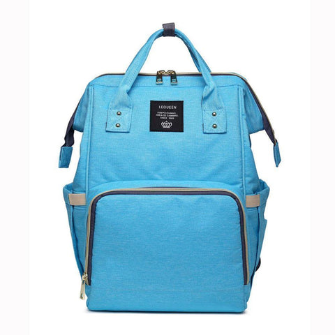 trendyholo.com Baby Blue The Ultimate Mommy Diaper Bag
