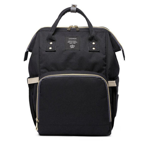 trendyholo.com Black The Ultimate Mommy Diaper Bag