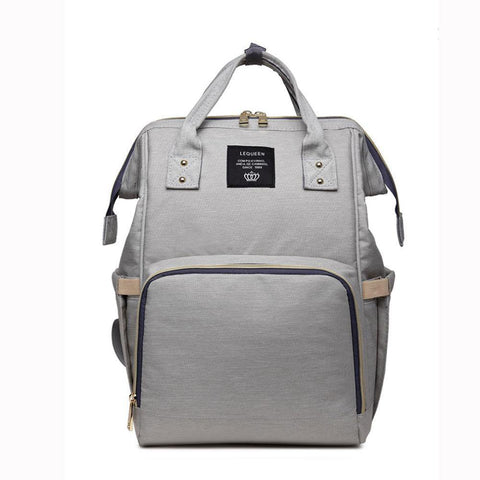 trendyholo.com Light Gray The Ultimate Mommy Diaper Bag
