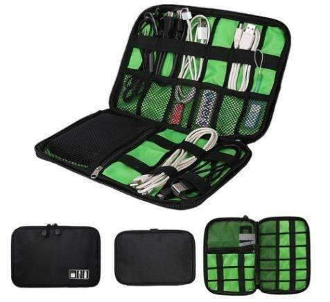 Image of trendyholo.com Black Universal Electronics Accessories Organizer