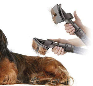 trendyholo.com Vacuum Grooming Brush for Pets