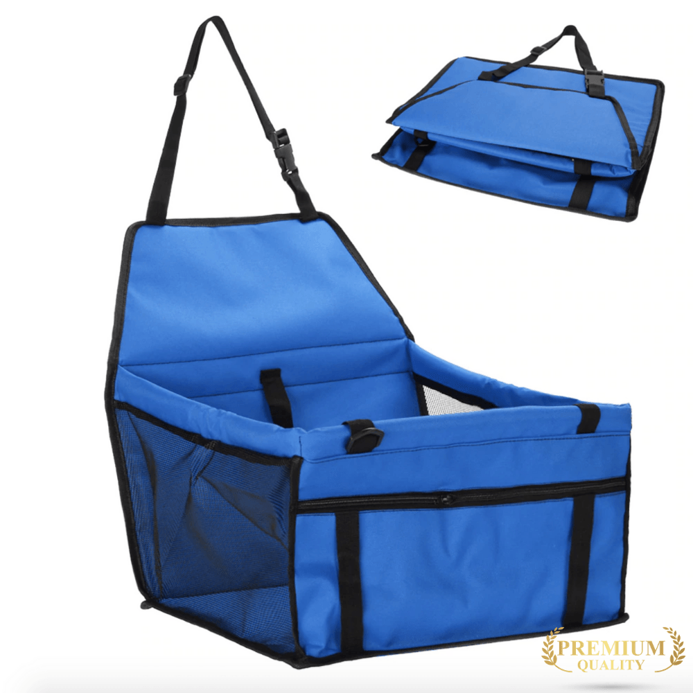 Trendy Holo pet Blue Waterproof Dog Car Seat | Holiday Sale  FINAL HOURS !