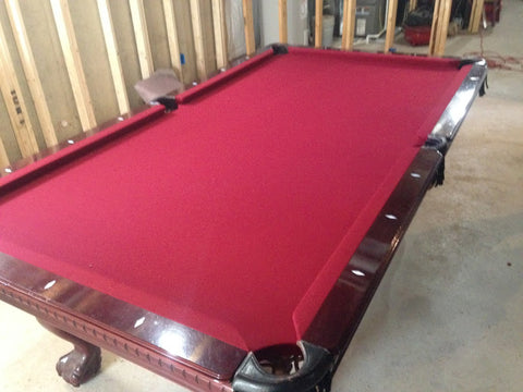 New Felt And Cushions On Liberty Pool Table In Middletown, DE