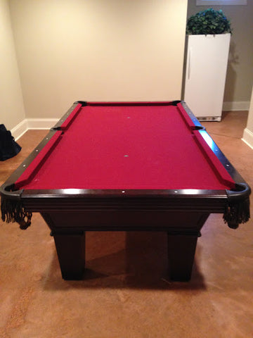 Olhausen Pool Table Move in Columbia, MD