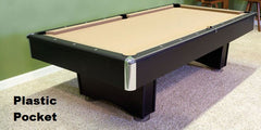 Does your Pool Table Have Leather Pockets, Plastic Pockets ...