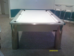 What A Pool Table With White Felt Chesapeake Billiards - Spectrum pool table