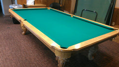 Connelly Billiards Pool Table with Brunswick Centennial Billiard Cloth