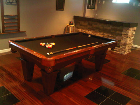 7 Legacy Billiards Ryan Pool Table With Black Pro Form