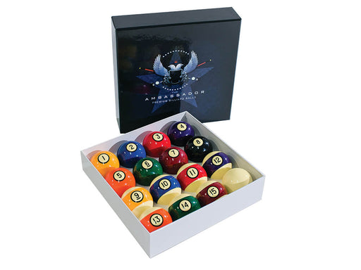 Ambassador Pool Ball Set