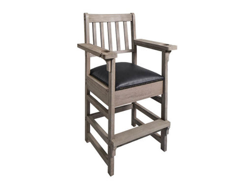 Barndoor Gray Spectator Chair With Drawer