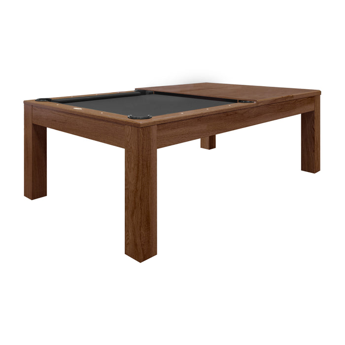 8' Mchenry Dining Pool Table Whiskey