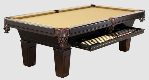 8' C.L. Bailey Duke Pool Table with Drawer