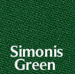 Simonis 860 Tournament Cloth Simonis Green