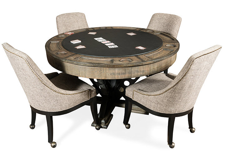Poker table chairs set planning poker cards meaning