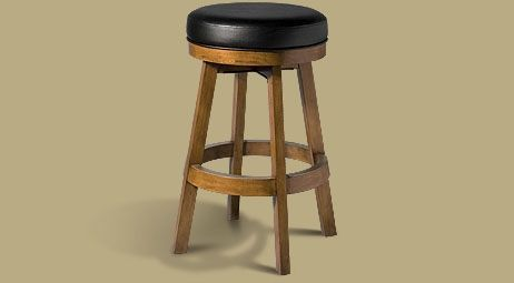 Legacy Classic Backless Stool  Oak