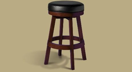 Legacy Classic Backless Stool  Black Cherry