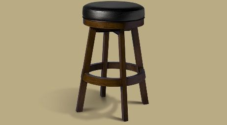 Legacy Classic Backless Stool  Nutmeg