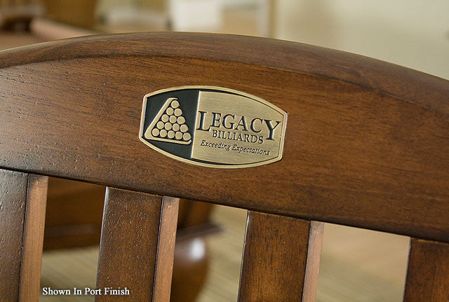 Legacy Classic Spectator Chair Port Nameplate