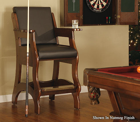 Legacy Elite Spectator Chair Nutmeg ... & Legacy Billiards Elite Spectator Chair u2013 Chesapeake Billiards